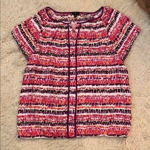 Spring blouse, happy Happy